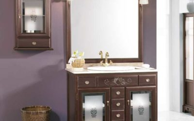 Mueble de Baño Rústico modelo Talla