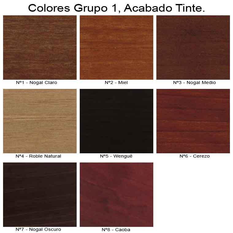 Mueble de ba o r stico modelo talla mudebacenter - Muebles color nogal ...